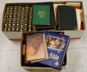 Three Boxes of Masonic Books and Magazines