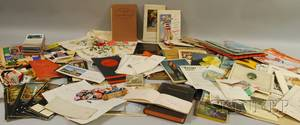 Lot of Miscellaneous 19th and 20th Century Ephemera Vintage Matches and Collectibles