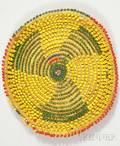 African Beaded Basket
