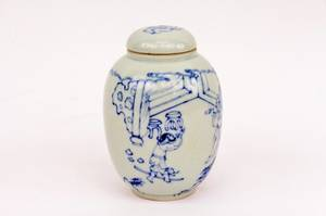 Chinese Blue  White Jar