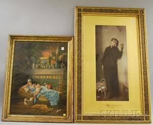 Two Framed Victorian Prints