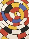 Alexander Calder American 18981976 Untitled Spiral