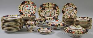 Fiftyseven Piece Masons Imaripalette Ironstone Partial Dinner Service