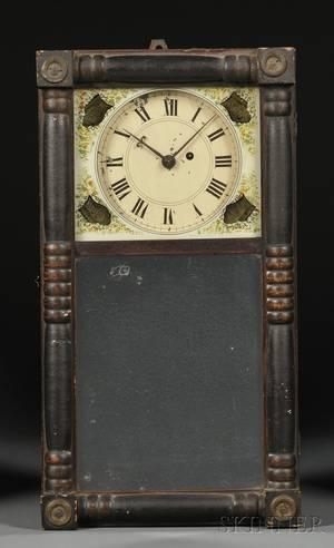 Miniature New Hampshire Mirror Clock