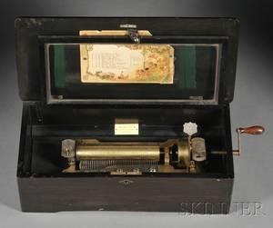 10 Air Cylinder Musical Box by Mermod Freres