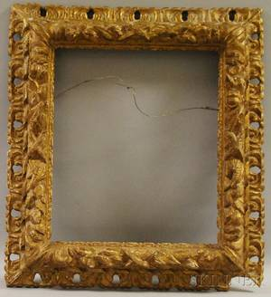 Baroquestyle Carved Giltwood Frame