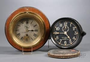 Two Seth Thomas Deck Clocks