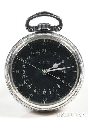 Base Metal GCT Military Watch by The Hamilton Watch Company