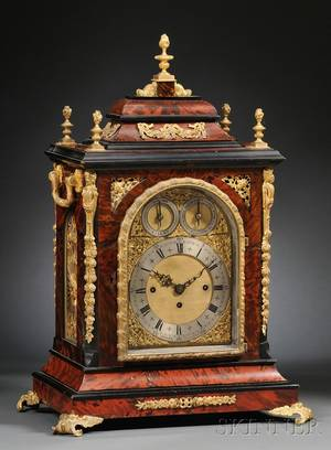 Victorian QuarterChiming Table Clock by Adams