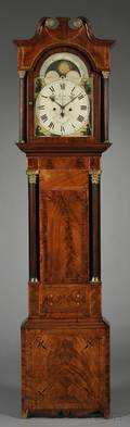 Mahogany Sweep Seconds Tall Clock by William Gammon