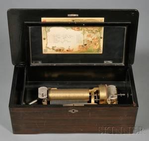 Eight Air Cylinder Musical Box by Mermod Freres