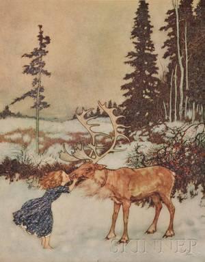 Illustrator 20th century Andersen Hans Christian 18051875  Dulac Edmund