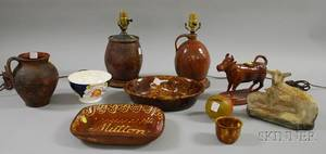Group of Assorted Ceramic Items