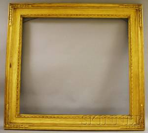 Copley Gallery Frame Carved and Gilded Frame