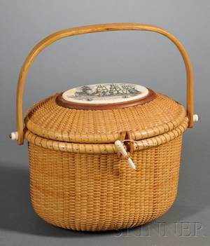 Nantucket Basket Purse