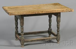 Oak Pine and Maple Table