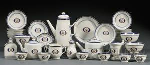 Chinese Export Porcelain Coffee and Tea Service