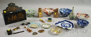 Group of Asian and European Decorative Items