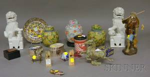 Group of Decorative Asian Objects