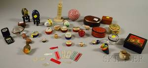 Sixteen Collectible Trinket Boxes and Other Small Decorative Articles
