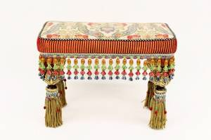 MackenzieChilds Tapestry Bench