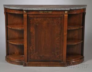 Regency Giltbronzemounted Rosewood Side Cabinet