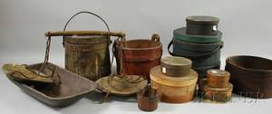 Group of Country Wooden Items