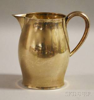 Tuttle Paul Revere Reproduction Sterling Silver Water Pitcher
