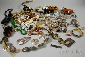 Large Group of Native American and Costume Jewelry