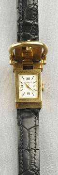 18kt Gold Wristwatch Hermes