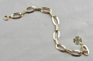 Retro 14kt Bicolor Gold Bracelet Cartier