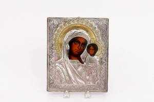 Russian Icon Kazan Mother of God