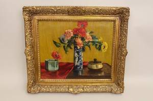 20th C German School Still Life Painting