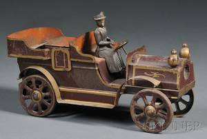 Pressed Steel Open Air Touring Car Toy