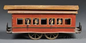 Pressed Steel TrainTrolley Car