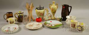 Assorted Group of Mostly Ceramic Items