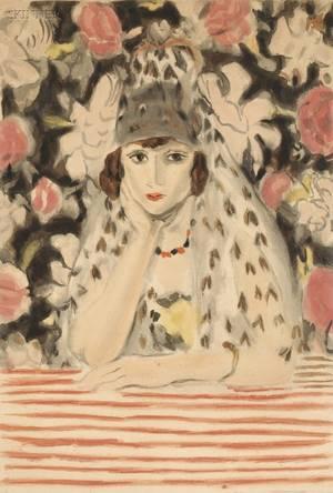 Jacques Villon French 18751963 After Henri Matisse French 18691954 LEspagnole