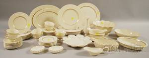 Lenox China Cretan Pattern Service for Eight with Serving Dishes