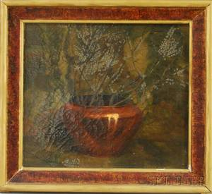American School 19th20th Century Still Life with Copper Pot