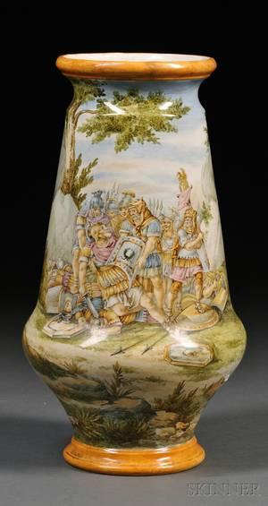 Richard Ginori Faience Table Lamp Base