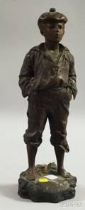 Bronze Sculpture Mousse Siffleur