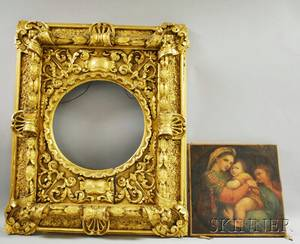 Rococo Revival Carved Giltwood Frame