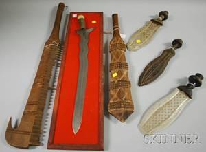 Six Tribal Weapons