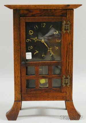 New Haven Clock Company Missionstyle Mantel Clock