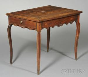 Louis XV Fruitwood Writing Table