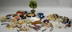 Large Lot of Assorted 19th and 20th Century Accessories Decorative and Collectible Items