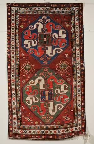 Armenian Cloudband Karabagh Rug