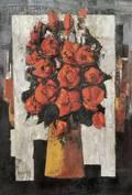 Tony Agostini French 19161990 Roses Rouges