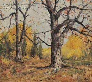 Henry Hammond Ahl American 18691953 Late Autumn
