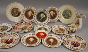 Sixteen Pieces of Assorted Wedgwood Josiah Wedgwood and The Potterrelated Ceramic Tableware